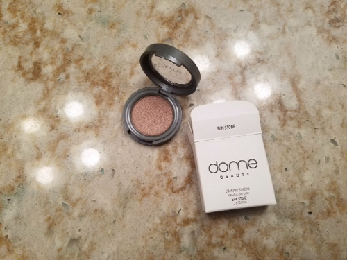 Dome beauty diamond shadow