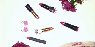 Top Valentine's Day pink lipstick, pink flowers, pink lipstick, beauty