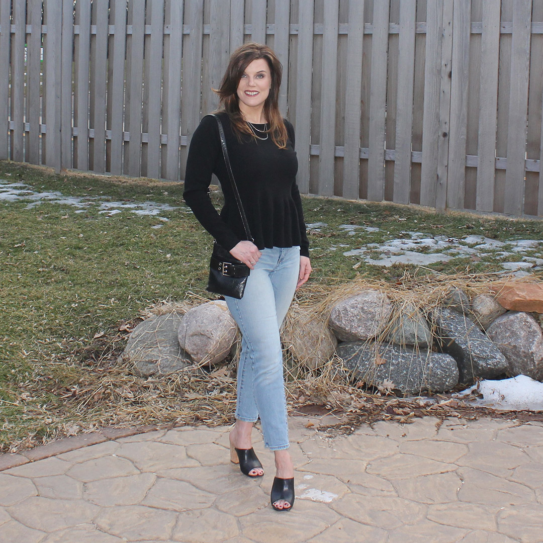 Peplum Shirt, long sleeve peplum shirt, how to wear peplum shirt
