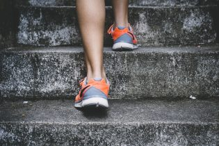 running up stairs, fitness